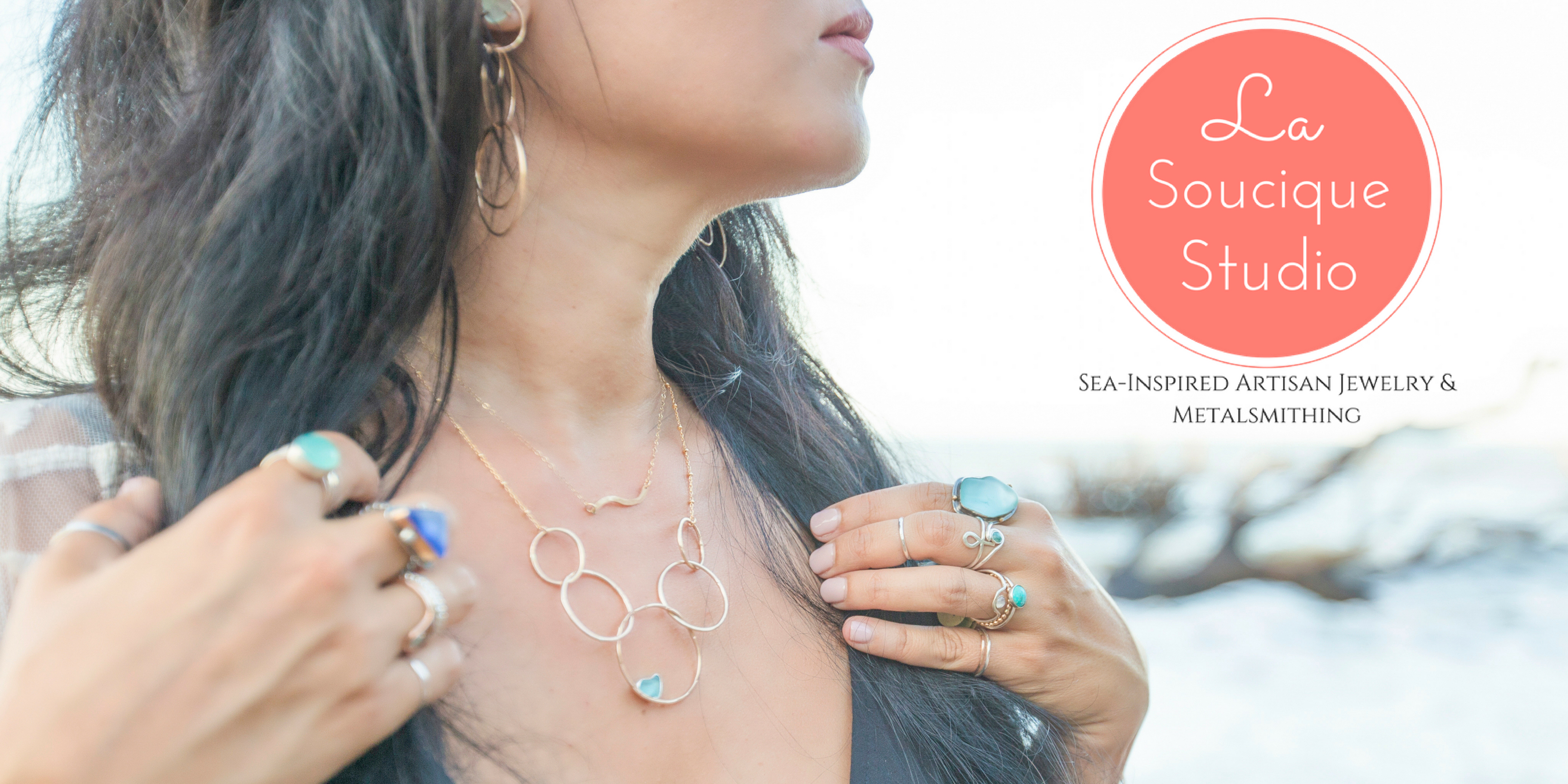 La Soucique Studio Sea-Inspired Jewelry & Metalsmithing